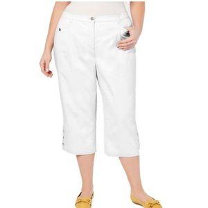 Karen Scott comfort waist tummy control capri 24W